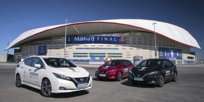 Nissan Electrifies UEFA Champions League