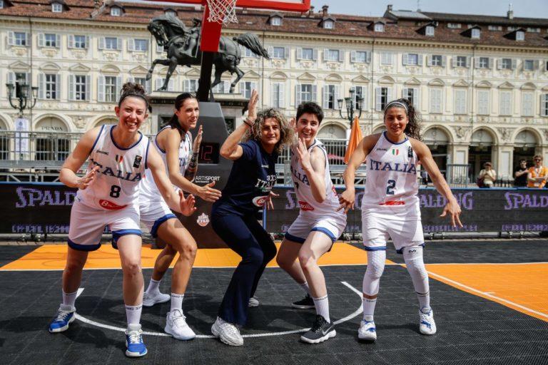 basket italia femminile 3x3