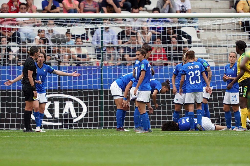 Mondiali calcio femminile Altro che signorine! Sara Gama