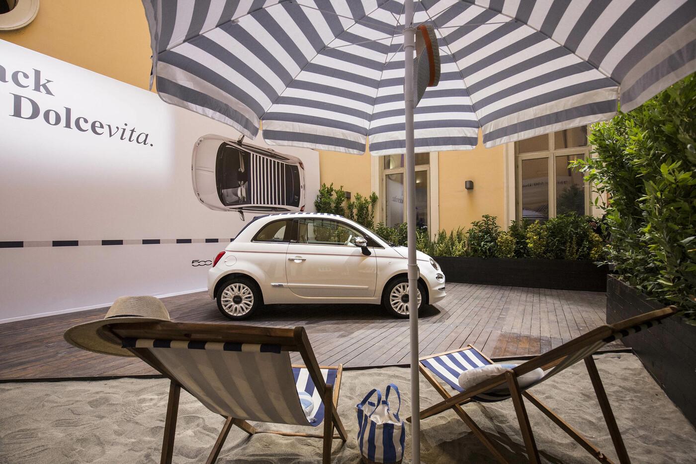 Fca Presentata Alla Stampa La Nuova Fiat 500 Dolcevita A Palazzo Poli