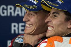 MotoGp – Marquez soddisfatto, Quartararo si gode il titolo di Rookie, Dovi sperava nel 2° posto: le parole dei protagonisti del Gp del Giappone