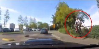 ciclista incidente macchina
