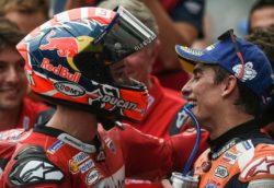 MotoGp – Marquez convinto della strategia, Dovi determinato