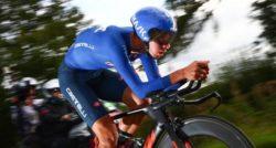 Antonio Tiberi, oro azzurro nella cronometro juniores ai Mon