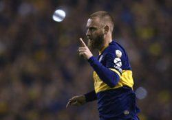 Boca Juniors, problema muscolare per De Rossi: il centrocamp