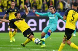 Risultati Champions League – Barça graziato dal Dortmund, Sa