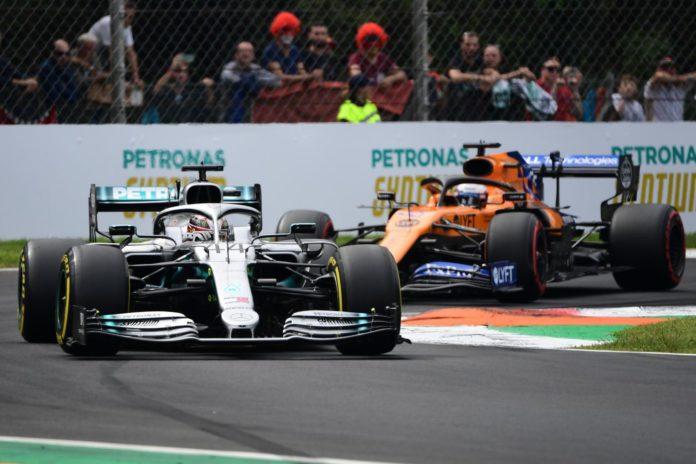 Hamilton e Sainz