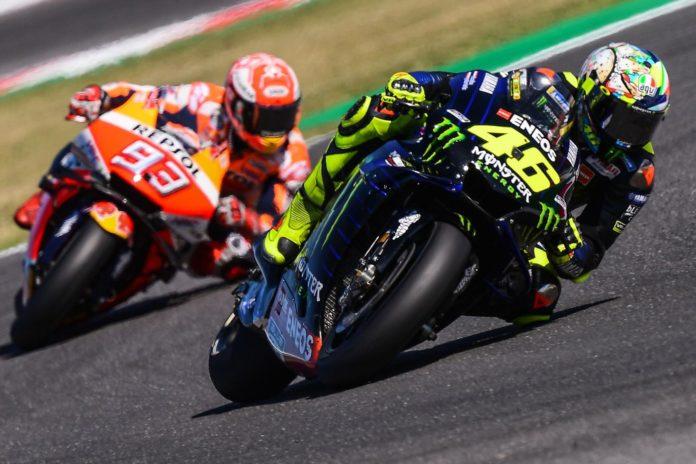 Marquez e Rossi