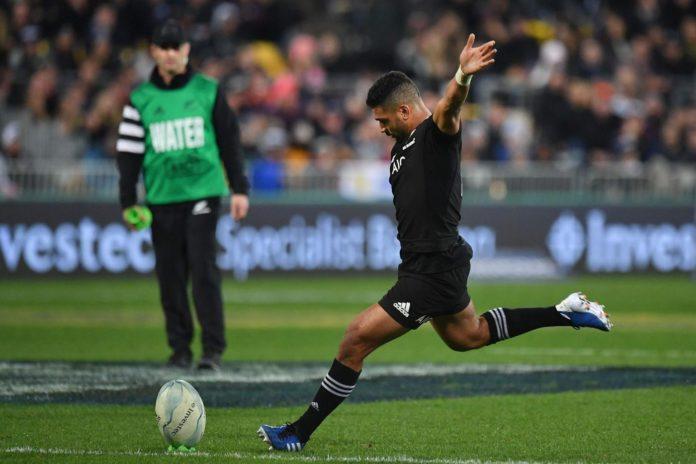Mo'unga All Blacks Rugby