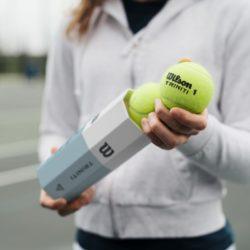 Pallina tennis Triniti Wilson (8)