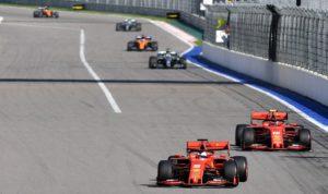 Vettel e Leclerc