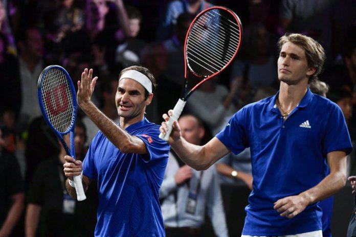 Zverev Federer Laver Cup