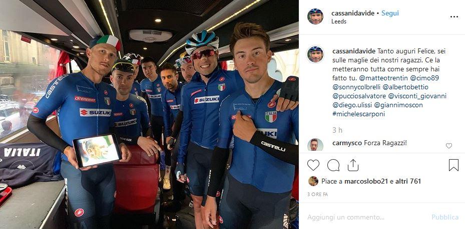 italia ciclismo mondiali yorkshire