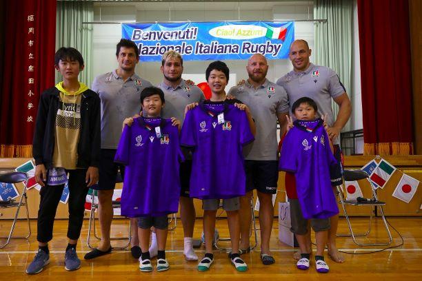 italia rugby scuola giappone