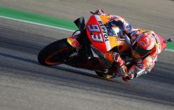 Brividi ad Aragon: Quartararo fa tremare la Honda, Marquez f