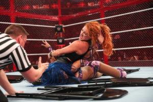 Becky Lynch Sasha Banks