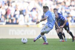 Pari e spettacolo fra Lazio e Atalanta: Ciro Immobile guida