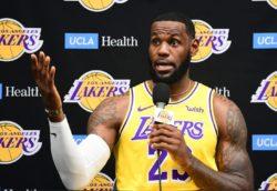"""NBA – LeBron James chiude l'argomento Cina: """"il mio obiettiv"""