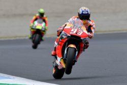Samurai Marquez in Giappone    pole position pazzesca a Motegi    splendido secondo posto per