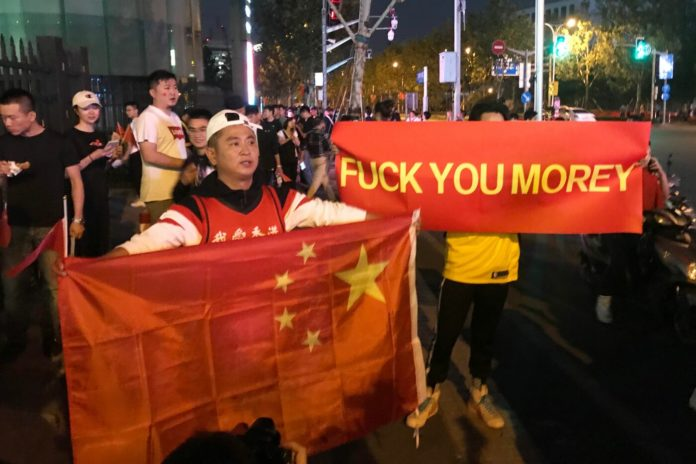 Proteste Cina contro Daryl Morey