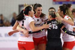 Pallavolo – Serie A1 femminile |  l'anticipo del sabato premia la Bosca S  Bernardo |