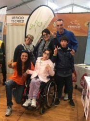 Giusy Versace alla 34ª Huawei Venicemarathon per la solidarietà con la Disabili No Limits