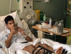 F2 – Visita speciale per Correa in ospedale: una nuova 'infe