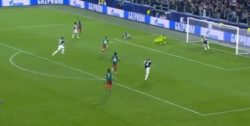Juventus-Lokomotiv Mosca |  difesa bianconera distratta |  Miranchuk porta in vantaggio i
