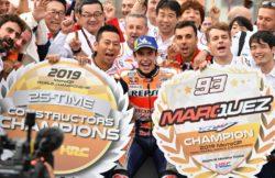 MotoGp, dal futuro di Lorenzo al rinnovo di Marquez: il pres