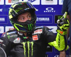 MotoGp – La M1 2020 di Valentino Rossi si ferma, il Dottore