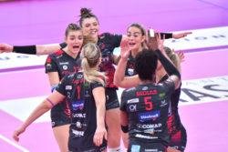 Pallavolo |  Serie A1 femminile – Perugia supera Brescia nell'anticipo della 7ª giornata