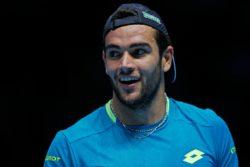 """ATP Finals – Berrettini al cospetto del mito Federer: """"a Wim"""
