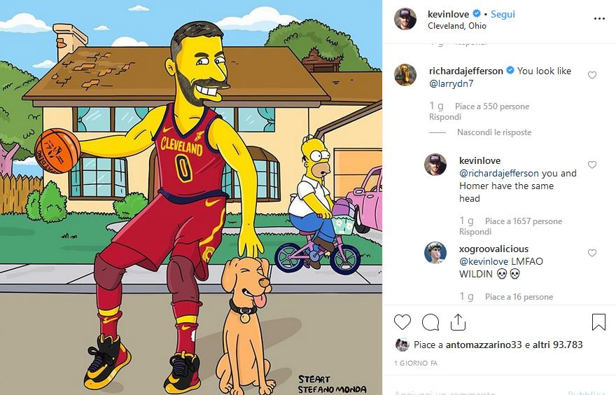 Kevin Love Simpson