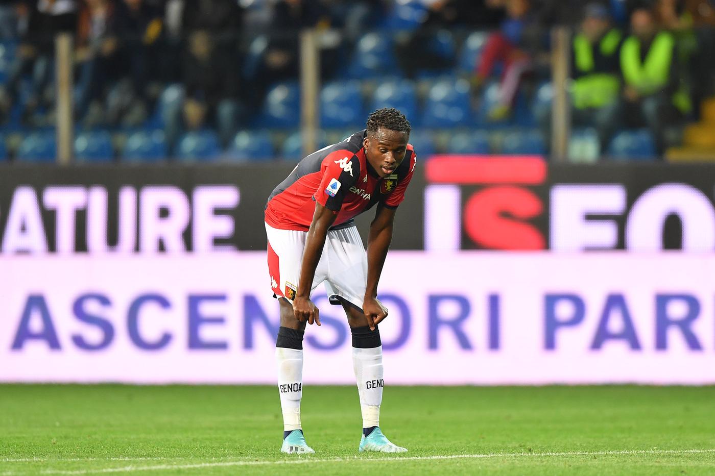 Genoa, stagione praticamente conclusa per Kouamé: confermata la rottura del crociato sinistro - SportFair