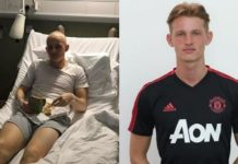 Max Taylor Manchester United tumore