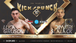 Boxe – Night of Kick and Punch 10, Luca Grusovin ha le idee
