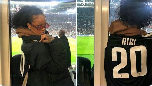 Rihanna Stadio Juventus