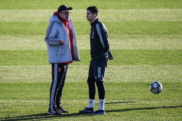 Ronaldo e Sarri