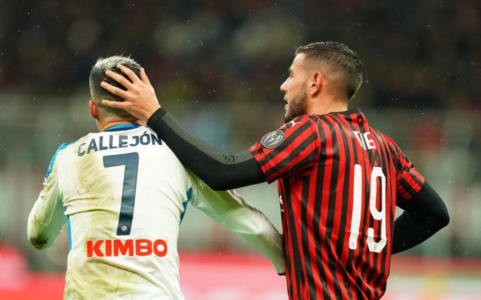 Theo Hernandez e Callejon