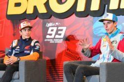 "MotoGp, Marc Marquez avverte il fratello Alex: ""felice del s"
