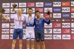 Ciclismo su pista – Coppa del Mondo |  Lamon super a Glasgow |  l'azzurro conquista il bronzo