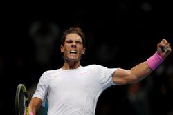 """ATP Finals – Nadal con i piedi per terra dopo la rimonta su Medvedev    """"bisogna essere da"""