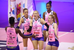 Pallavolo – Serie A1 femminile: l'anticipo tra Reale Mutua e