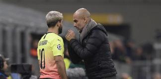 Aguero e Guardiola