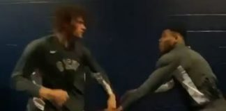 Milwaukke Bucks wrestling