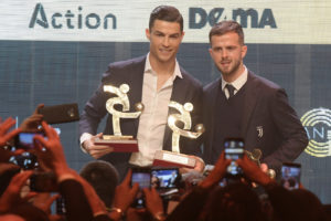 Pjanic e Ronaldo