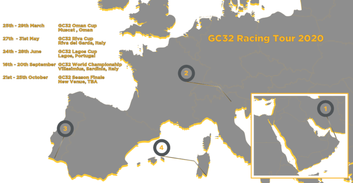 gc32 racing tour vela