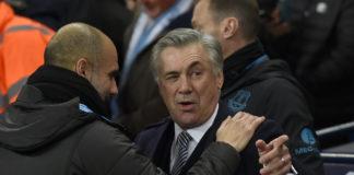 Guardiola e Ancelotti