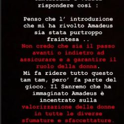 Instagram Stories Francesca Sofia Novello