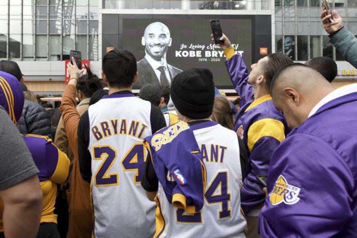 Kobe Bryant, il patto con la moglie, mai in elicottero insieme